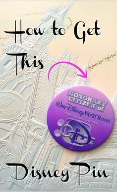 Living at Disney World is a dream! While you might not be able to buy a house, we can show you how to get a FREE certificate and pin declaring you a Walt Disney World citizen. Here's the place to score this great souvenir at a Disney theme park. #waltdisneyworld #disney #disneyworld #wdw #Orlando #florida #disneylife #souvenir #freebie #disneysmmc #disneyside #budgettravel