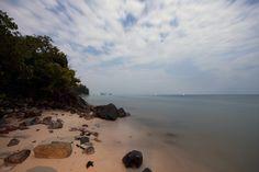 Moonlit Beach, Koh Phangan, Thailand - 2008 - Sal Marston Photography