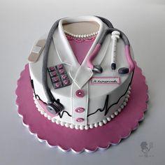 Nurse Cake - Cake by Antonia Lazarova