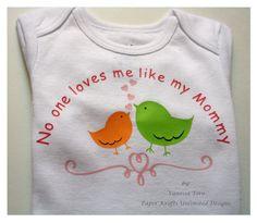 New Personalized/Custom Happy First Mother's Day Baby Onesie #amazingetsians #hep #craftshout