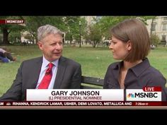 Gary Johnson Goes Completely Crazy - Sticks His Tongue Out While Talking - YouTube