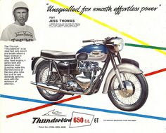 Original Triumph Thunderbird Ad