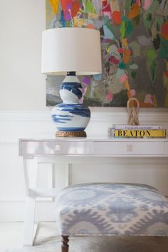 painting by brenda bogart | design by collins interiors | blueprintstore.com/blog