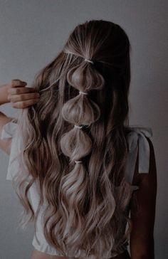 Kawaii Hairstyles, Scarf Hairstyles, Bride Hairstyles, Cute Hairstyles, Straight Hairstyles, Cut Her Hair, Hair Color And Cut, Hair Inspo, Hair Inspiration