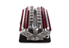 Engine-Inspired V12 Espresso Machine by Espresso Veloce - I guess for the Dad that into cars, but loves his expresso?  Hehe
