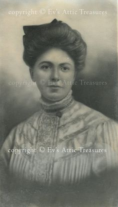 Lovely Victorian Lady Photo Digital Download via Etsy