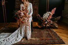 Gallery - A Terracotta and Copper Bohemian Wedding Inspiration Beige Lace Dresses, Black Tulips, Bohemian Wedding Inspiration, Ceremony Backdrop, Bridal Boutique, Hair Designs, Her Style, Terracotta, Earthy