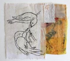 Cas Holmes - Using the Found: Paper and Stitch – Urban Nature