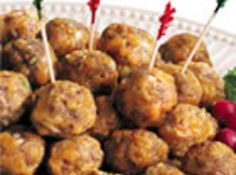 Jimmy Dean Sausage Cheese Balls Recipe | Just A Pinch Recipes