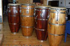 Sonoc Conga Drums... made in Havana, Cuba...