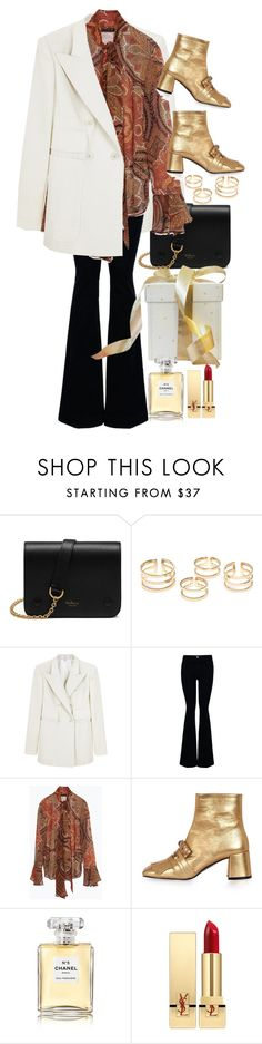 """Christmas 3"" by nikka-phillips ❤ liked on Polyvore featuring Mulberry, Carven, STELLA McCARTNEY, Zara, Topshop, Chanel and Yves Saint Laurent"