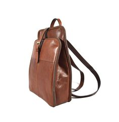 66d273be06 Classic Genuine Leather Backpack Vintage Purse for Women - Zaino in Pelle  Vintage da Donna Stile