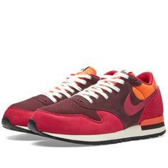 timeless design 09928 5207c Buy the Nike Air Epic QS in Deep Burgundy   Dark Fireberry from leading mens  fashion retailer END.