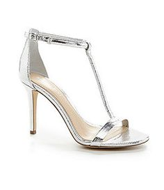 Gianni Bini Antonias T Strap Dress Sandals Bridesmaid ShoesWedding