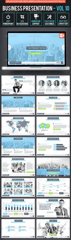 Business Presentation | Volume 10 - Business Powerpoint Templates