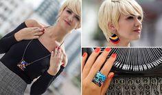 Jornalista+de+Floripa+transforma+obras+de+arte+em+incríveis+colares,+brincos+e+anéis