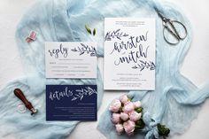 Printable Invitations, Custom Invitations, Baby Shower Invitations, Birthday Invitations, Leaf Illustration, Wedding White, Wedding Invitation Design, Leaf Design, Rsvp