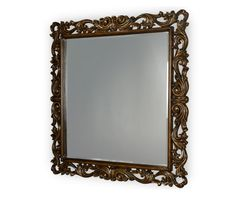 AICO Furniture - Discoveries Console Mirror with Scrolled Frame - ACF-MIR-SJSE-7A7