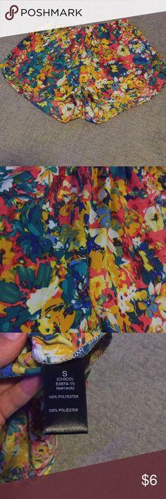 Floral Shorts Small Shorts Shorts