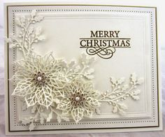 Improving Upon Office Environment Air Excellent With Indoor Crops - Superior For Business Christmas Card Making Scrapbook Cards Diy Cards Greeting Cards Creative Scrapbooker Magazine Christmas Cards 2018, Xmas Cards, Holiday Cards, Diy Cards, Greeting Cards, Spellbinders Christmas Cards, Poinsettia Cards, Christmas Poinsettia, Merry Christmas