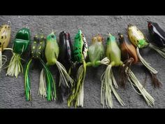 Topwater Frog Largemouth Bass Fishing Tips - How to Fish a Hollow Belly Frog - YouTube