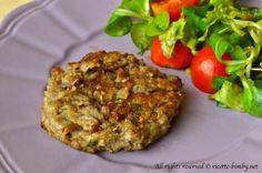 Hamburger vegetariano di melanzane Bimby