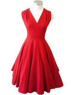 Greta Dress –Red Aerocorp