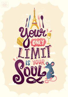 Ratatouille (2007) ~ Movie Quote Poster by Risa Rodil #amusementphile