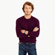 Merino wool crewneck sweater : merino | J.Crew
