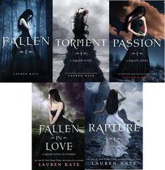 Fallen series by Lauren Kate Fallen, Torment, Passion. Fallen Novel, Fallen Series, Fallen Book, Lauren Kate, Beloved Book, Order Book, Book Fandoms, Book Authors, Creative Writing