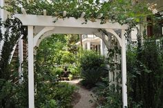 Mark an entrance. Arbors make great focal points. As an alternative to traditional wood, which needs regular upkeep, look for structures mad...