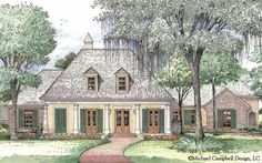 Madden Home Design   French Country House Plans French Country
