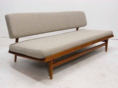 J.O. Carlsson | Scandinavian Modern Sofa Daybed, Sweden - New Upholstery.