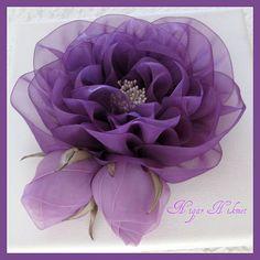 *RIBBON ART ~ BUD rose on | by nigarhikmet