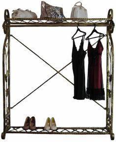Boutique Clothing Rack, Elegant Garment Rack, Display Store Rack