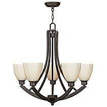 For Living Manchester 5-Light Bronze Chandelier, Product #52-0382-6, $229.99