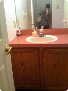 first home makeover: Powder Room Heaven