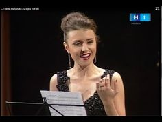 """Romance """"The bird with blue feathers"""" (Pasăre cu pene-albastre).  Romance """"The bird with blue feathers"""". Liric by Veronica Micle. Christmas concert """"O good tidings"""". The orchestra of the Philharmonic society named Sergei Lonkevich. Dumitru Carciumaru - Conductor. Sing Valentina Nafornita."""