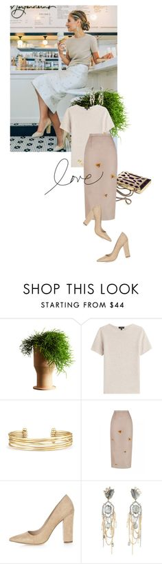 """""""postcard from far away"""" by dear-inge on Polyvore featuring Internoitaliano, Theory, Stella & Dot, River Island and Alexis Bittar"""