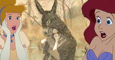 "Something tells me you'll never see a Disney Princess named ""Donkeyskin."""