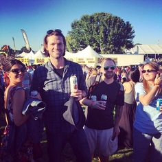 Gen and Jared at the 2014 Austin City Limits Music Festival - click through for full picture set....