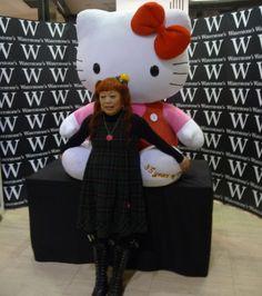 Hello Kitty creator Yuko Yamaguchi in London