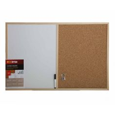 Bi-Office Cork and Dry Wipe Combination Notice Board with Pen 900x600mm - White Boards - Notice Boards - Conference Supplies & Presentation Equipment - Office Supplies Office Boards, Wipe Board, Office Space Design, Deep Shelves, Types Of Wood, Bathroom Medicine Cabinet, Cleaning Wipes, Cork