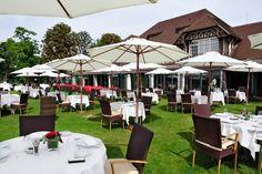 La terrasse du Tir au pigeon www.123terrasse.fr/le-tir-aux-pigeons-les-deux-etangs #coffee #bar #restaurant #soleil #terrace #Paris #spot #sun #jardin #garden