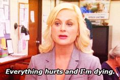 """You stay up all night studying 