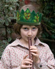 Waldorf Forest Elf Birthday Crown by SusannaW on Etsy