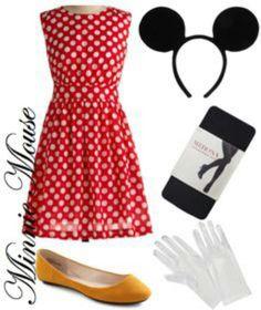 Minnie Mouse DIY Costume.