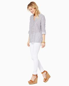 Elsa Striped Top | Fashion Apparel - Shirts and Tops | charming charlie