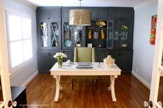 Whitley Desk by Ballard Designs | via @Laura Trevey @ Bright Bold & Beautiful