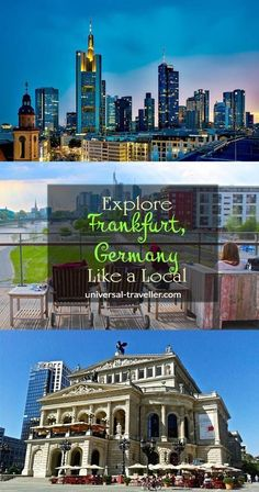 How to Explore Frankfurt, Germany like a Local. Find here things to do in Frankfurt, Frankfurt attractions and places to visit in Frankfurt.